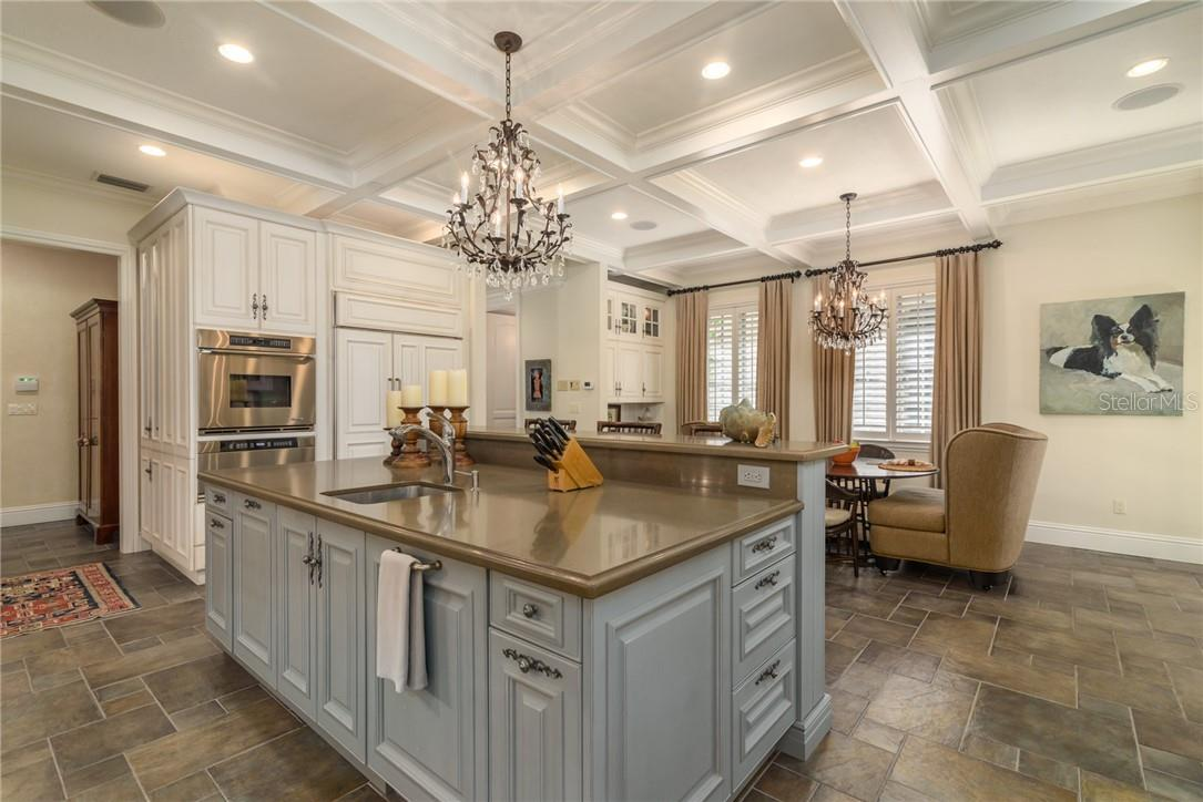 Imagine what delicious treats can be prepared in this spacious multi-functional kitchen! - Single Family Home for sale at 1807 Oleander St, Sarasota, FL 34239 - MLS Number is A4475067