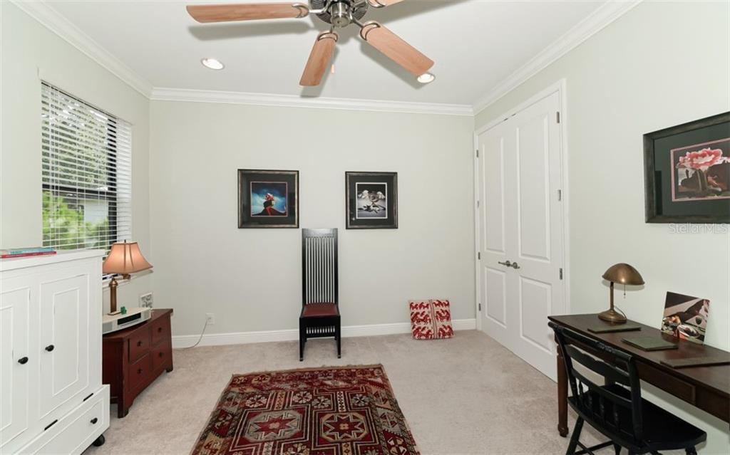 Bedroom 3 - Single Family Home for sale at 3538 Trebor Ln, Sarasota, FL 34235 - MLS Number is A4475545