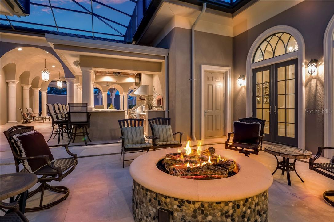 Perfect for Chilly Evenings and S'mores - Single Family Home for sale at 8499 Lindrick Ln, Bradenton, FL 34202 - MLS Number is A4475594