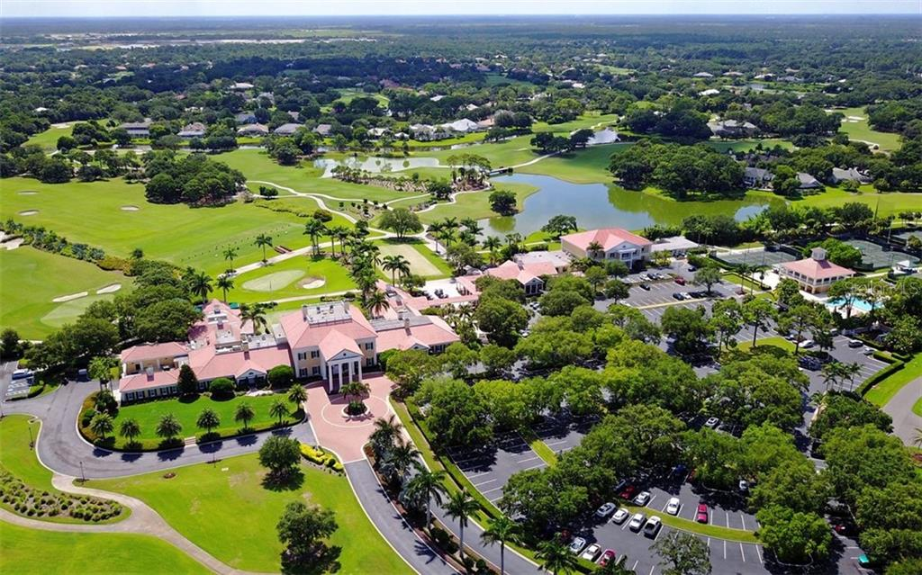 Aerial of The Oaks Club - Single Family Home for sale at 462 E Macewen Dr, Osprey, FL 34229 - MLS Number is A4476181
