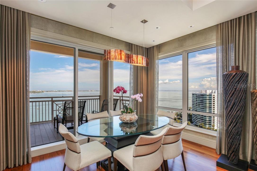 Dining/Breakfast - Condo for sale at 35 Watergate Dr #1803, Sarasota, FL 34236 - MLS Number is A4476458