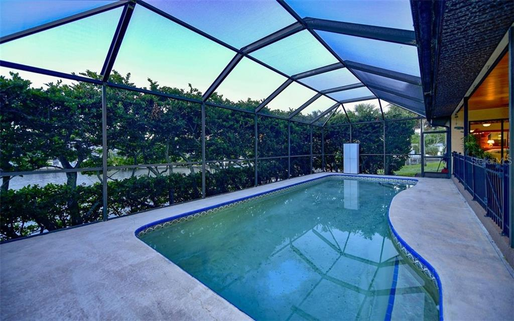 View with your back to the door closest to entrance to pool bath - Single Family Home for sale at 9219 Bimini Dr, Bradenton, FL 34210 - MLS Number is A4483083