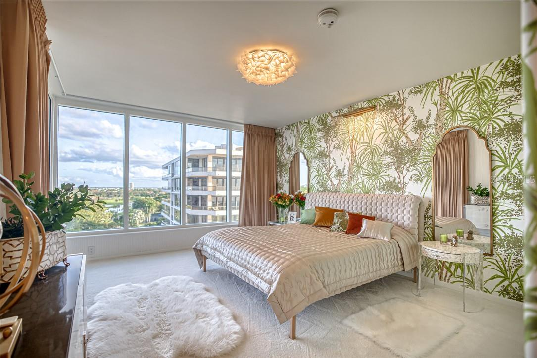 Master Bedroom - Condo for sale at 545 Sanctuary Dr #B706, Longboat Key, FL 34228 - MLS Number is A4483212