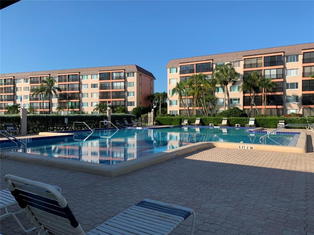 Main Pool - Condo for sale at 9011 Midnight Pass Rd #328, Sarasota, FL 34242 - MLS Number is A4483601