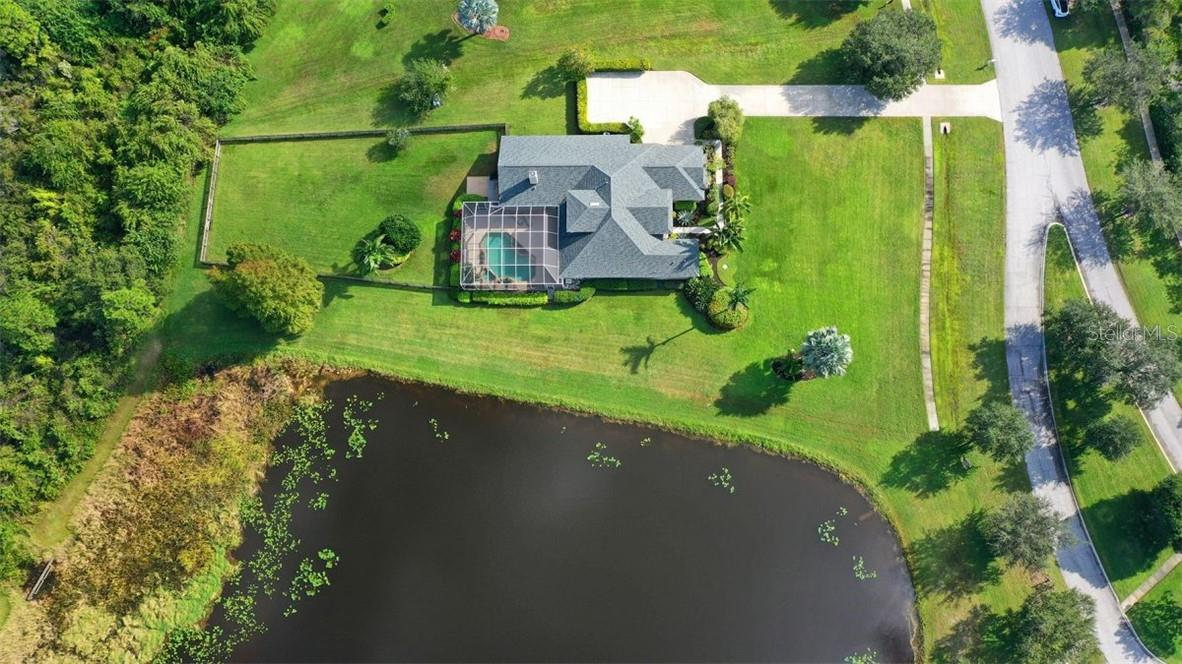 Wildlife also love the preserve and visit the area daily - Single Family Home for sale at 7832 Panther Ridge Trl, Bradenton, FL 34202 - MLS Number is A4483837
