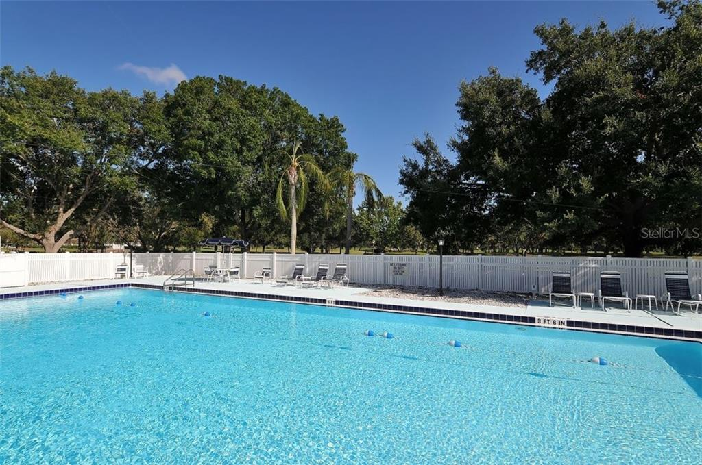 Palm Aire Country Club pool - Villa for sale at 4812 Lakescene Pl, Sarasota, FL 34243 - MLS Number is A4486070