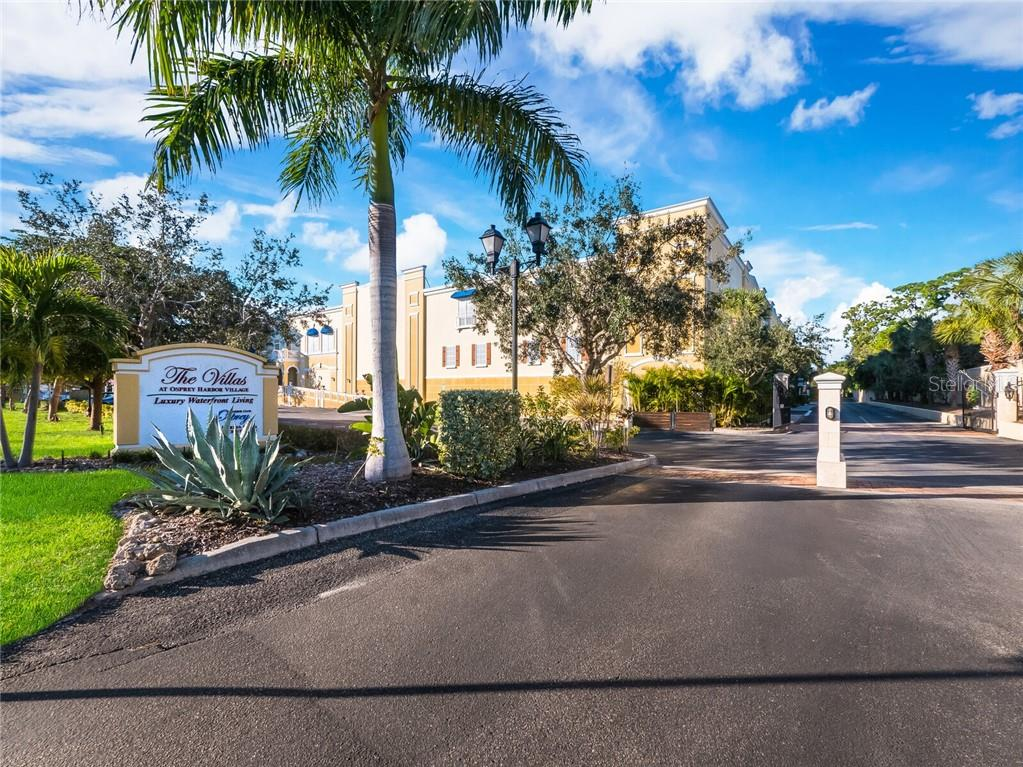 Gated entry  right before the Blackburn Point Bridge. - Condo for sale at 14021 Bellagio Way #407, Osprey, FL 34229 - MLS Number is A4487552