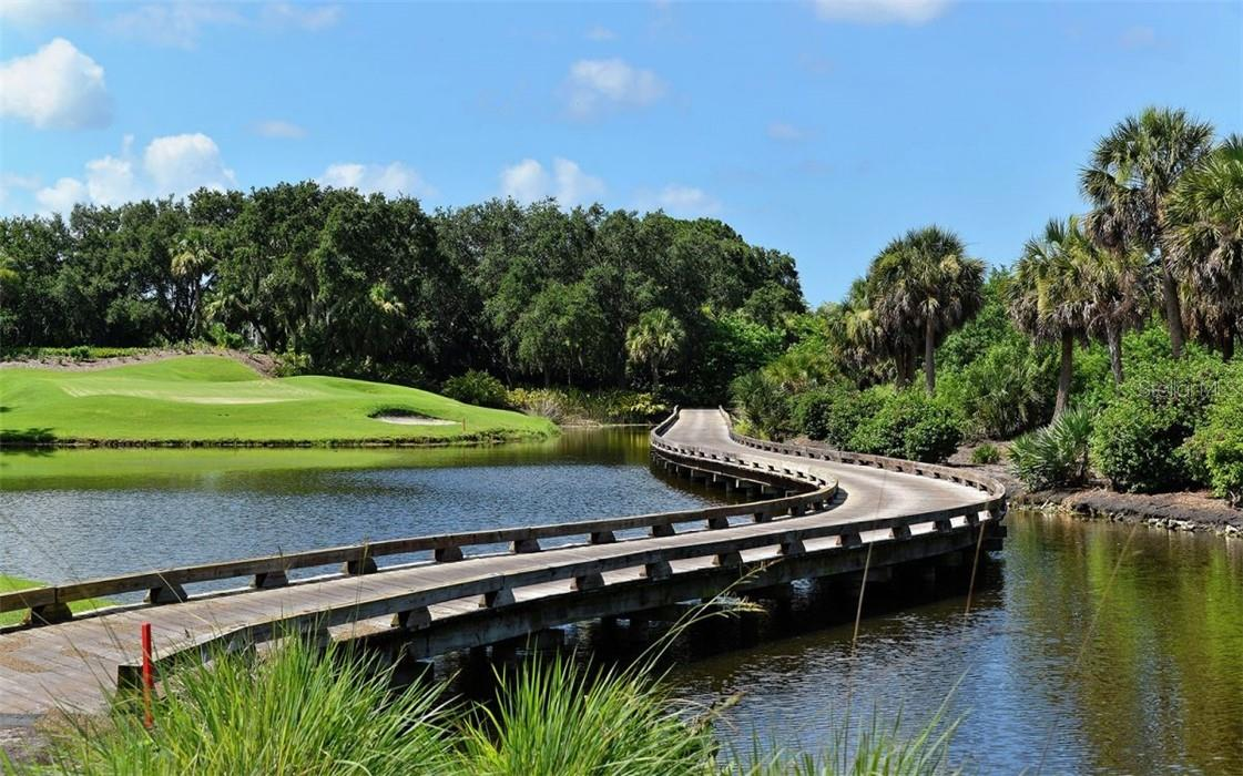 Golf course at The Oaks - Condo for sale at 409 N Point Rd #402, Osprey, FL 34229 - MLS Number is A4491620