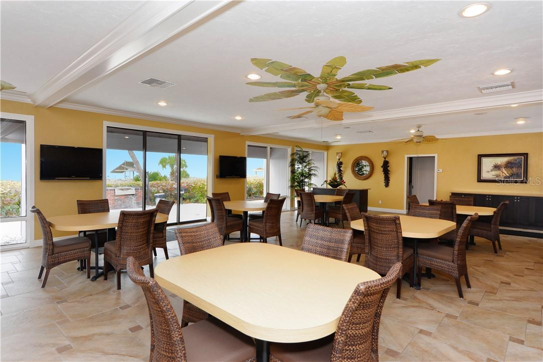 Gulfside Clubhouse - Condo for sale at 1200 E Peppertree Ln #602, Sarasota, FL 34242 - MLS Number is A4495963