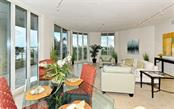 Living/Dining room - Condo for sale at 500 S Palm Ave #41, Sarasota, FL 34236 - MLS Number is A4144835