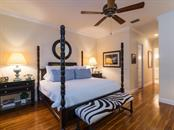 Master bedroom - Single Family Home for sale at 5555 Cape Leyte Dr, Sarasota, FL 34242 - MLS Number is A4157475