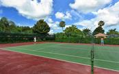 Club South Tennis/Pickleball court  (steps away from this unit.) - Condo for sale at 9630 Club South Cir #6103, Sarasota, FL 34238 - MLS Number is A4166105