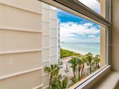 Gulf View from Dining Window - Condo for sale at 1750 Benjamin Franklin Dr #5g, Sarasota, FL 34236 - MLS Number is A4192160