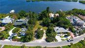 Bay view of lot and dock - Vacant Land for sale at 3220 Casey Key Rd, Nokomis, FL 34275 - MLS Number is A4197366