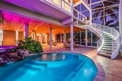 LED Stairwell Pool to 2nd Level - Single Family Home for sale at 39 Tidy Island Blvd, Bradenton, FL 34210 - MLS Number is A4202735