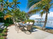 Waterfront patio - Single Family Home for sale at 8101 Midnight Pass Rd, Sarasota, FL 34242 - MLS Number is A4206718