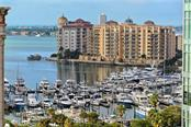 Zoom View from Terrace. - Condo for sale at 1350 Main St #1106, Sarasota, FL 34236 - MLS Number is A4209424