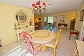 Dining area - Single Family Home for sale at 600 Wild Turkey Ln, Sarasota, FL 34236 - MLS Number is A4210585