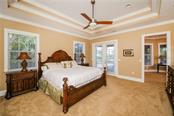 First Floor Master Bedroom - Single Family Home for sale at 432 Sorrento Dr, Osprey, FL 34229 - MLS Number is A4402898