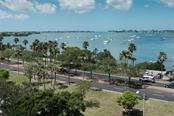 View to the South West - Condo for sale at 340 S Palm Ave #412, Sarasota, FL 34236 - MLS Number is A4403968