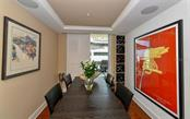 Dining room - Condo for sale at 1350 Main St #1201, Sarasota, FL 34236 - MLS Number is A4427507