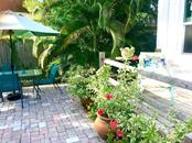 Court yard and BBQ area - Single Family Home for sale at 707 N Osprey Ave, Sarasota, FL 34236 - MLS Number is A4429678