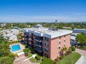 View of complex looking east with downtown Sarasota in the distance. - Condo for sale at 131 Garfield Dr #1b, Sarasota, FL 34236 - MLS Number is A4432013