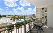 View from the home - Condo for sale at 800 N Tamiami Trl #602, Sarasota, FL 34236 - MLS Number is A4436915