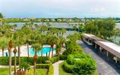 View from 2nd. bedroom window - Condo for sale at 5855 Midnight Pass Rd #429, Sarasota, FL 34242 - MLS Number is A4446942