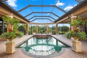 Pool and spa - Single Family Home for sale at 15212 Linn Park Ter, Lakewood Ranch, FL 34202 - MLS Number is A4450793