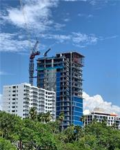 Construction of the west facing Brise Soleil - Condo for sale at 605 S Gulfstream Ave #Ph18, Sarasota, FL 34236 - MLS Number is A4458982
