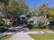Exterior with plenty of parking - Single Family Home for sale at 3838 Flores Ave, Sarasota, FL 34239 - MLS Number is A4461669