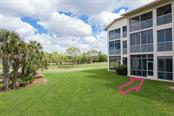 Well groomed lawn space with golf/lake views - Condo for sale at 9630 Club South Cir #6102, Sarasota, FL 34238 - MLS Number is A4463325