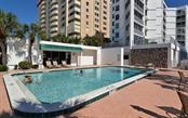 Pool & clubhouse. - Condo for sale at 1770 Benjamin Franklin Dr #706, Sarasota, FL 34236 - MLS Number is A4469463