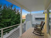 3rd floor guest bedroom private balcony sunset views - Single Family Home for sale at 500 Beach Rd #1, Sarasota, FL 34242 - MLS Number is A4474527