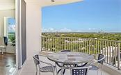 Panoramic views from the large terrace - Condo for sale at 1771 Ringling Blvd #1110, Sarasota, FL 34236 - MLS Number is A4474683