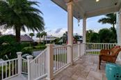 Front porch - Single Family Home for sale at 718 Key Royale Dr, Holmes Beach, FL 34217 - MLS Number is A4480381