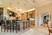 A really large open kitchen for any chef's delight, all custom cabinetry - Single Family Home for sale at 8263 Archers Ct, Sarasota, FL 34240 - MLS Number is A4483993