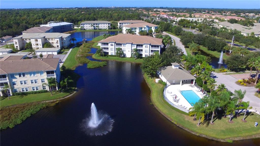 Aerial of community. - Condo for sale at 1100 San Lino Cir #1134, Venice, FL 34292 - MLS Number is N5910364