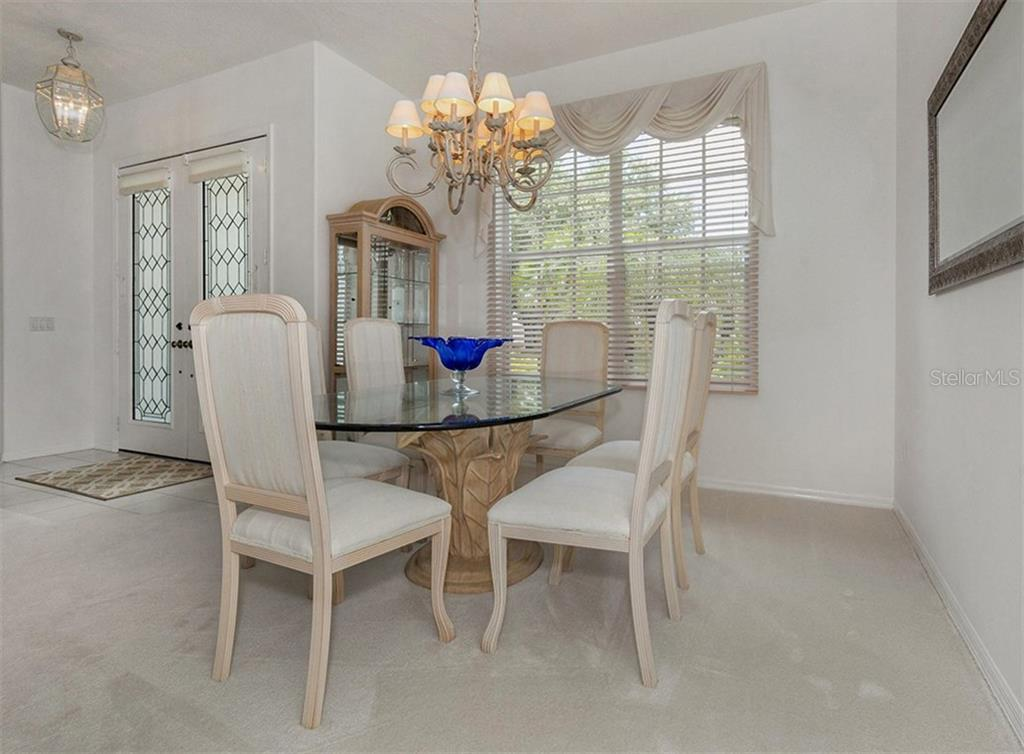 Dining Room - Single Family Home for sale at 122 Ventana Way, Venice, FL 34292 - MLS Number is N5912714