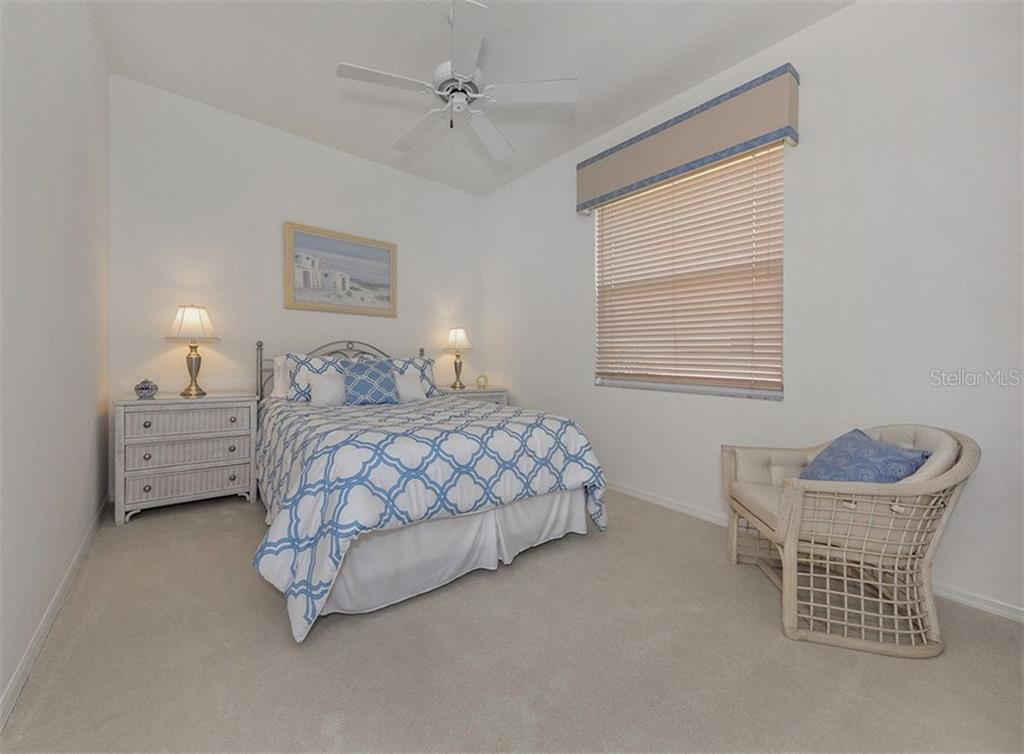 Guest Bedroom - Single Family Home for sale at 122 Ventana Way, Venice, FL 34292 - MLS Number is N5912714