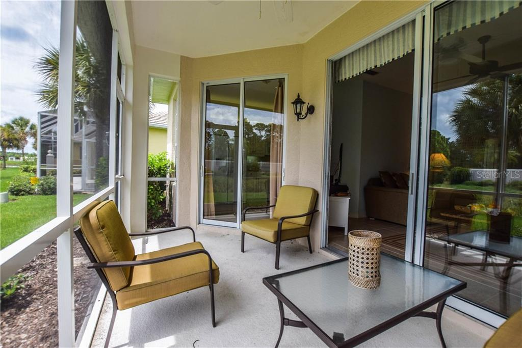 Lanai - Villa for sale at 1641 Monarch Dr #1641, Venice, FL 34293 - MLS Number is N5913259