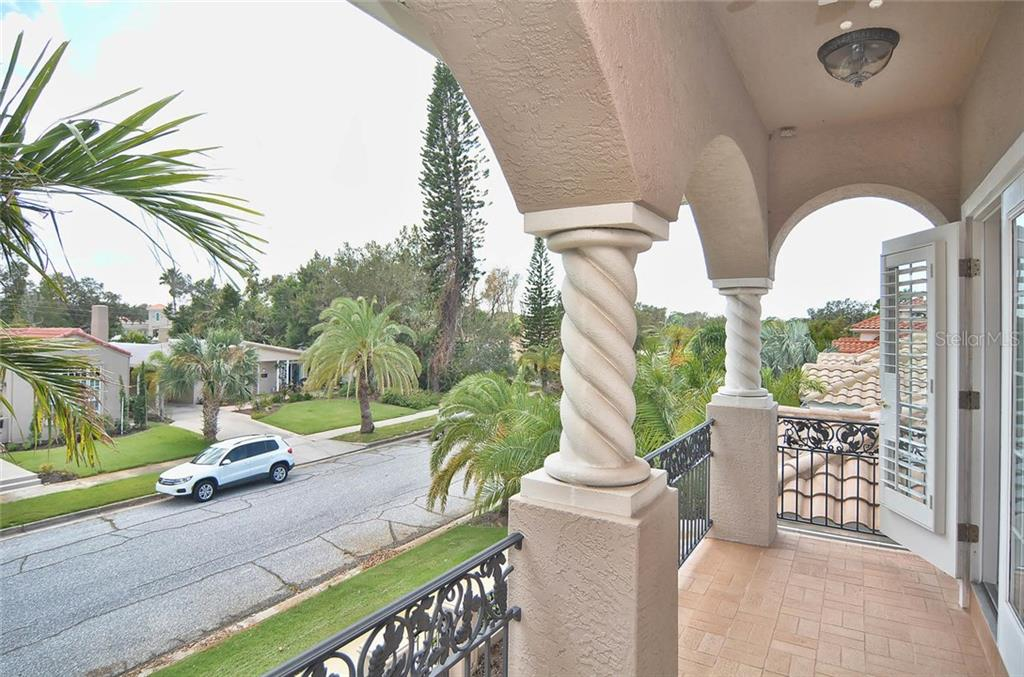 Balcony - Single Family Home for sale at 248 Pensacola Rd, Venice, FL 34285 - MLS Number is N5914299