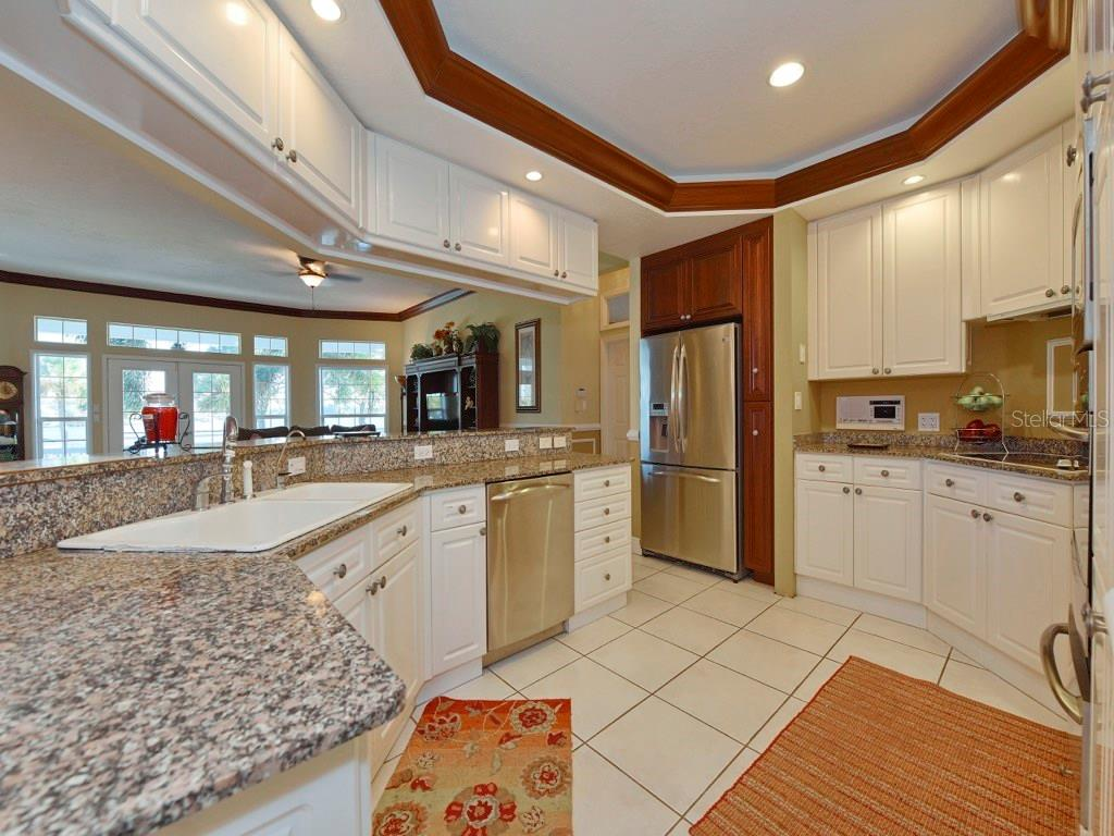 Stunning Bay Views from the Kitchen. - Single Family Home for sale at 200 Sunrise Dr, Nokomis, FL 34275 - MLS Number is N5914820