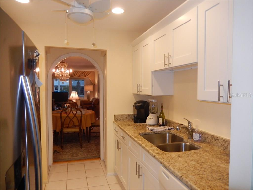 Another view of the updated kitchen. - Condo for sale at 500 The Esplanade N #102, Venice, FL 34285 - MLS Number is N5915924