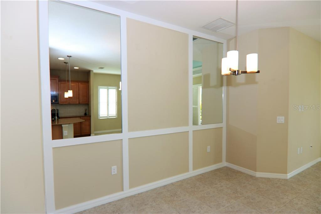 Dining Area - Villa for sale at 10731 Trophy Dr, Englewood, FL 34223 - MLS Number is N6100149