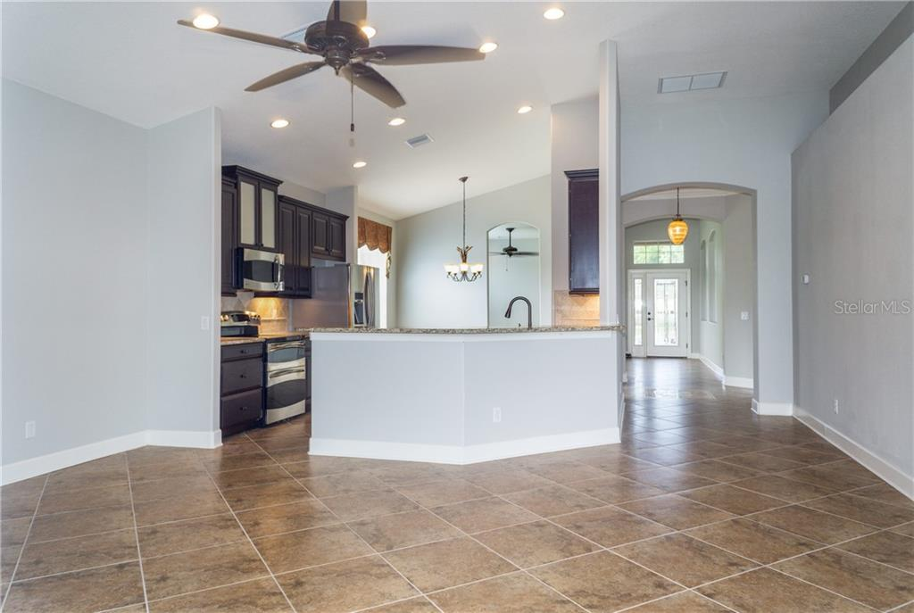 Volume Ceilings with Canned Lighting - Single Family Home for sale at 2290 Terracina Dr, Venice, FL 34292 - MLS Number is N6101301