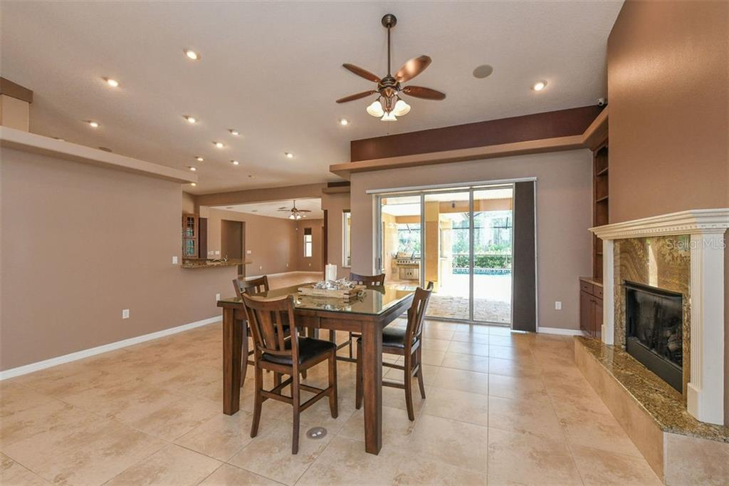 Dining room - Single Family Home for sale at 9150 Deer Ct, Venice, FL 34293 - MLS Number is N6101408