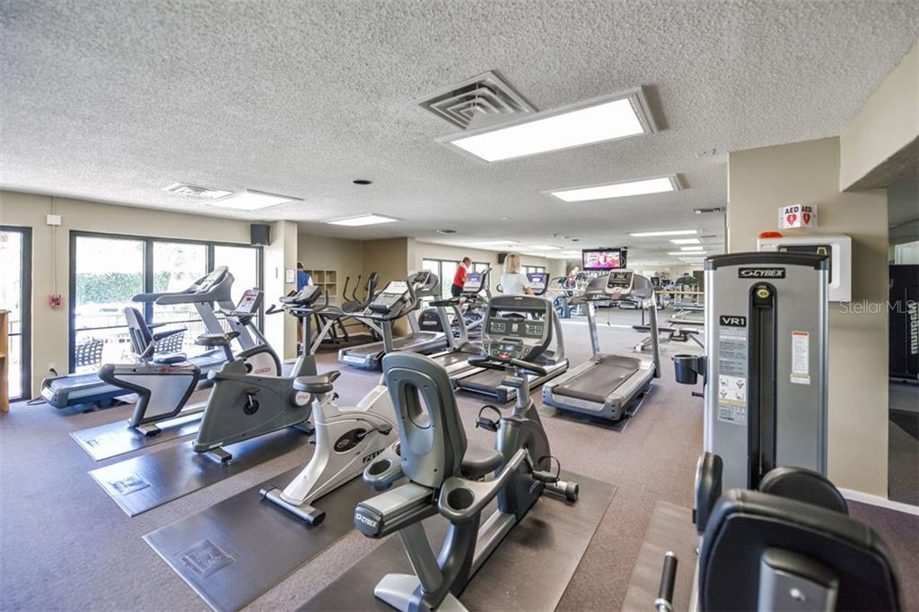 FITNESS CENTER - Condo for sale at 5740 Midnight Pass Rd #505 F, Sarasota, FL 34242 - MLS Number is N6102195