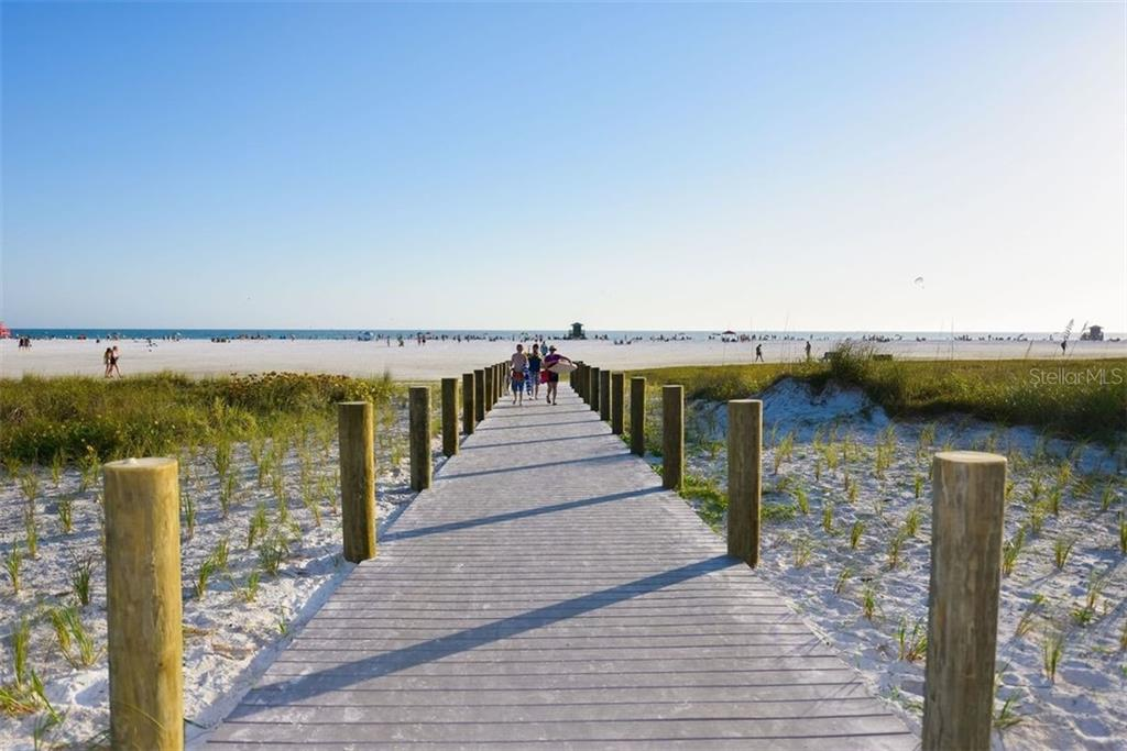 WALKWAY TO THE BEACH - Condo for sale at 5740 Midnight Pass Rd #505 F, Sarasota, FL 34242 - MLS Number is N6102195
